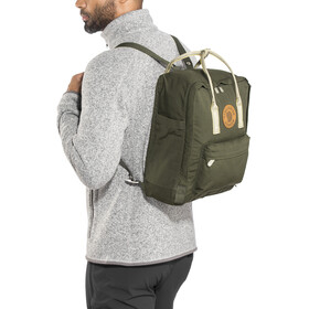 Fjällräven Kånken Greenland Backpack deep forest-greenland pattern